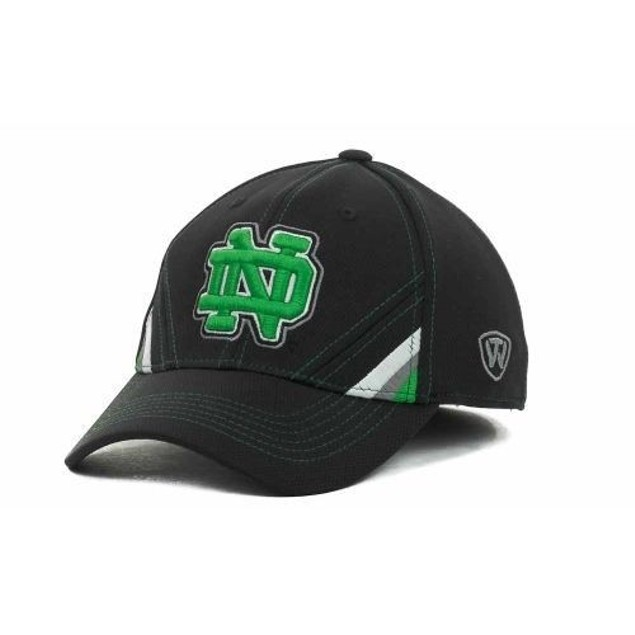 "Notre Dame Fighting Irish NCAA TOW ""Pace"" Stretch Fitted Hat L/XL"