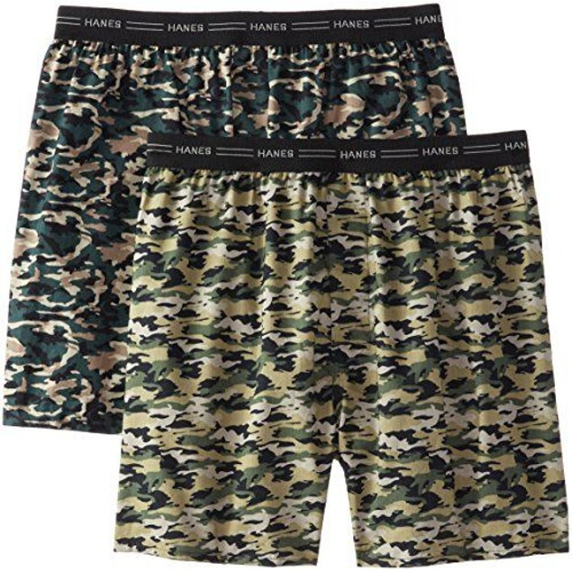 4-Pack Hanes Comfort Flex Waistband Boxers Camo Collection
