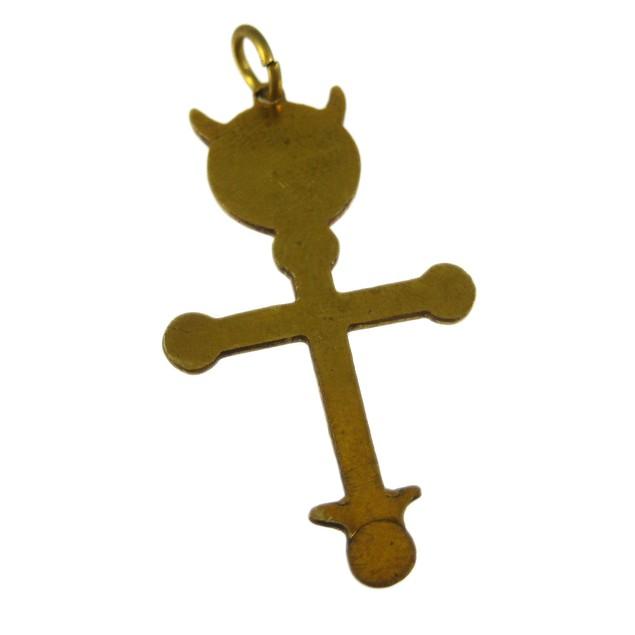 Brass Hieroglyphica Star Charm Pendant For Mens Pendants