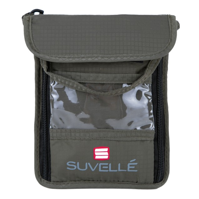 Suvelle RFID Blocking Neck Pouch Passport Wallet