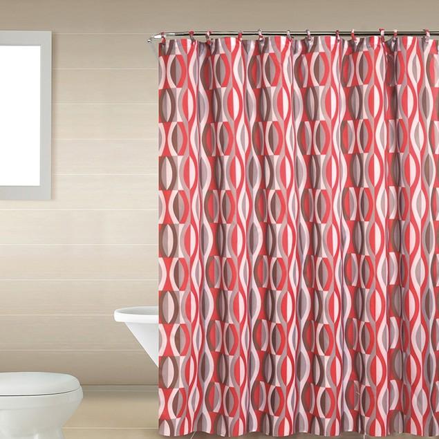 Home Dynamix Shower Curtain and Bath Rug Set: 18 Piece Bath Set