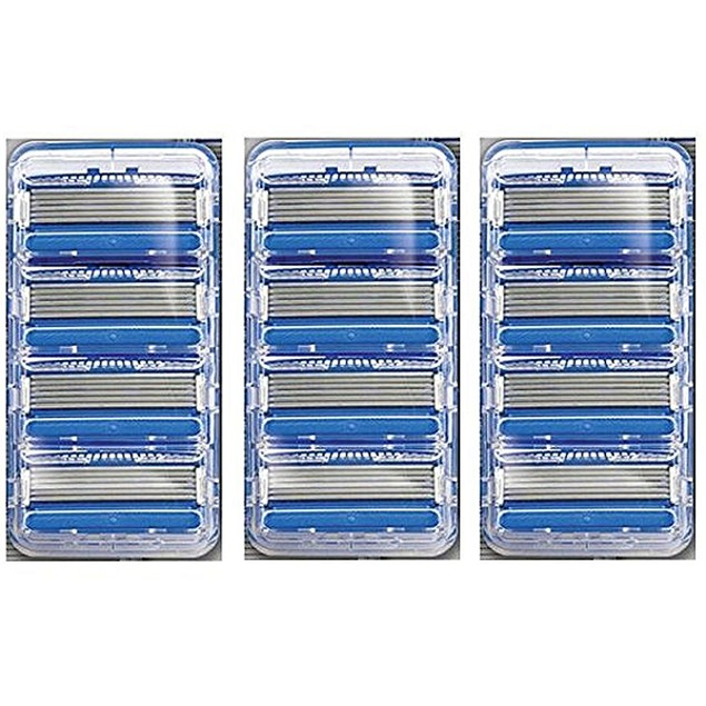 12-Pack Schick Hydro 5 Refill Razor Blades (Unboxed)