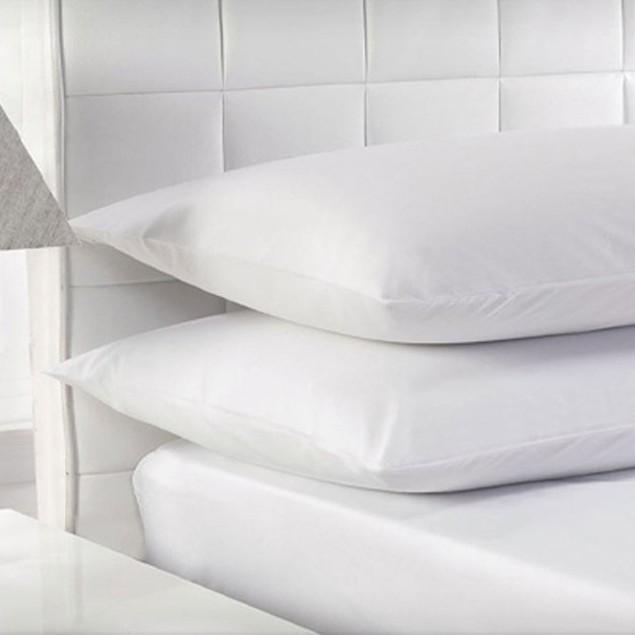 Beauty Sleep 100% Cotton White Duck Feather Pillows