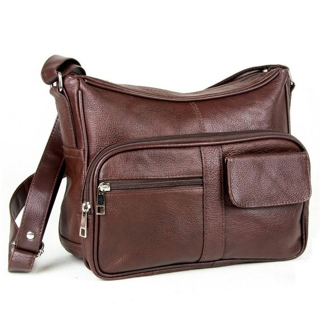 Luxurious Genuine Leather Classic Handbag