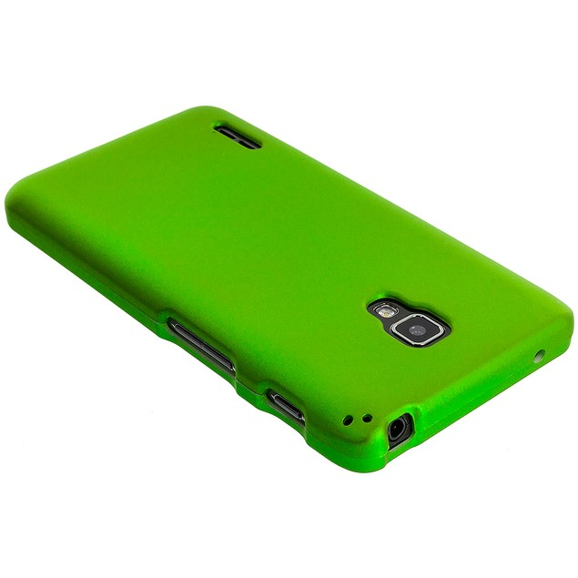 LG Optimus F7 Hard Rubberized Case Cover