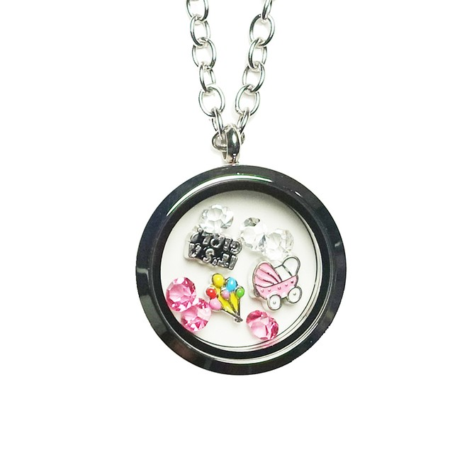 It's A Girl Magnetic Locket