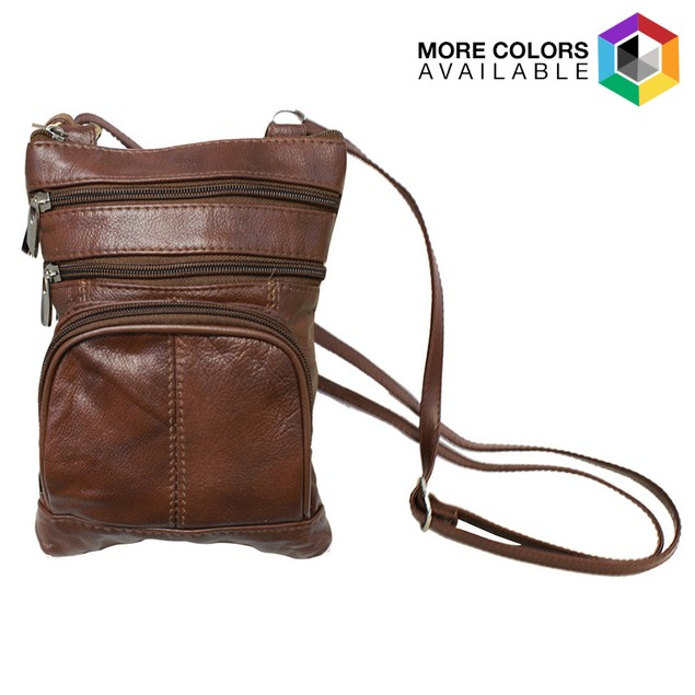 Super Soft Leather Cross-Body Bag