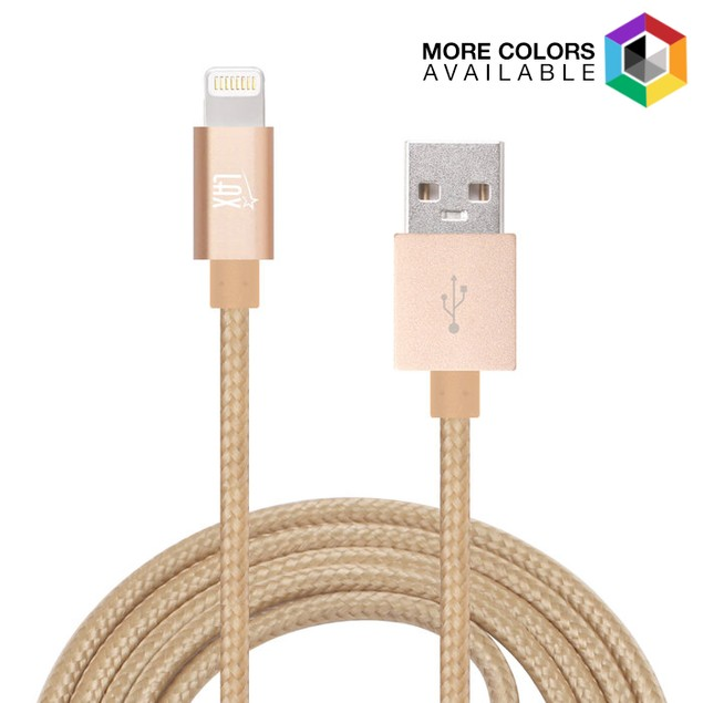 MFI Certified 10' USB Lightning Cable for iPhone