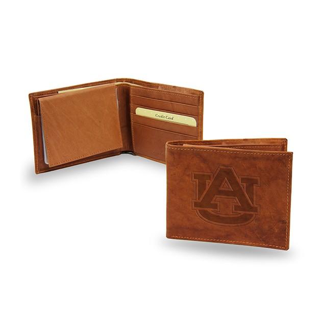 Auburn Leather Manmade Trifold