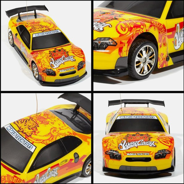 Licensed West Coast Customs Yellow Tuner Style