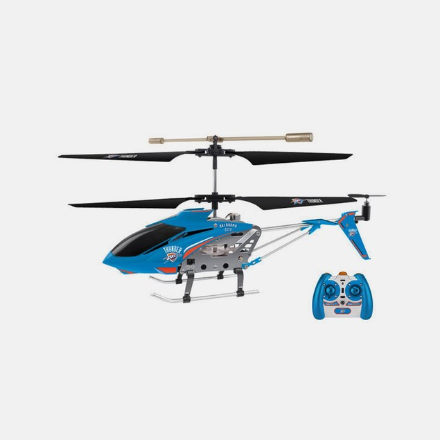 NBA OKC Thunder Team RC Helicopter