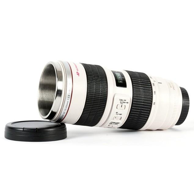 Zoom Lens Travel Mug