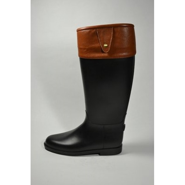 Equestrian Waterproof Fashion Boots - Cognac