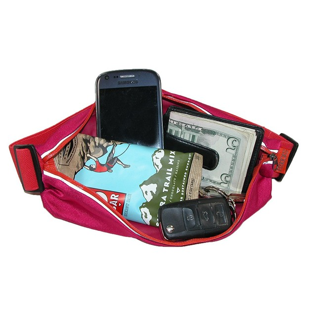 Fitkicks Fit Zip Reflective Waist Pouch/Fanny Pack