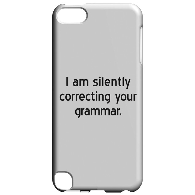 Silently Correcting Grammar for iPod Touch 5