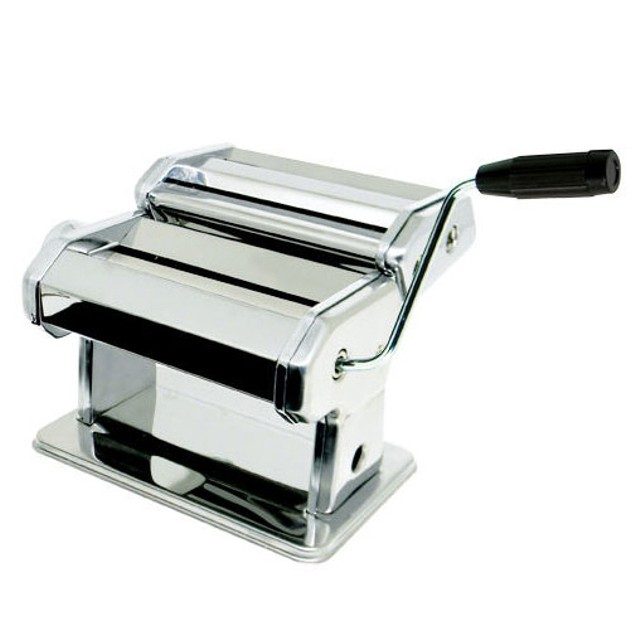 Gourmet Chef Hand-Operated Stainless Steel Pasta Maker
