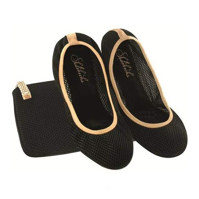 Sidekicks Women's Mesh Foldable Ballet Flats