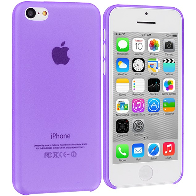 Apple iPhone 5C Hard Crystal Back Case Cover