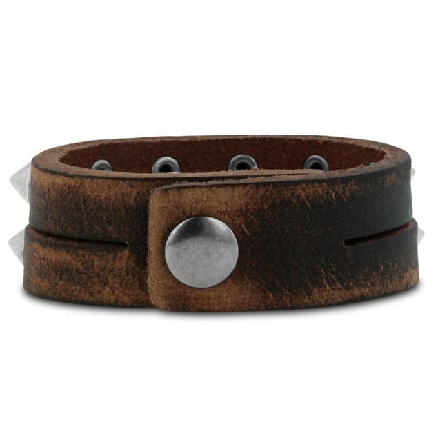 Octavius Rockstar Studded Split Strand Bracelet