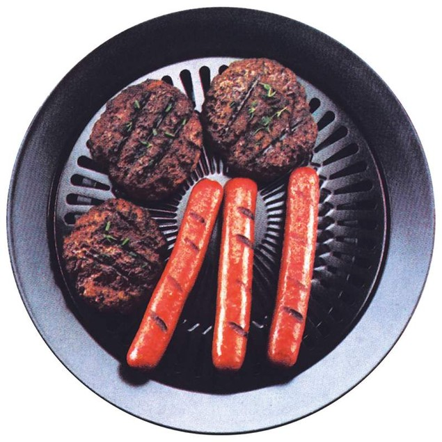 Healthy Indoor Stovetop Smokeless BBQ Grill