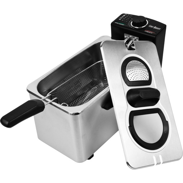 Electric Deep Fryer Stainless Steel - 3.5 Liter