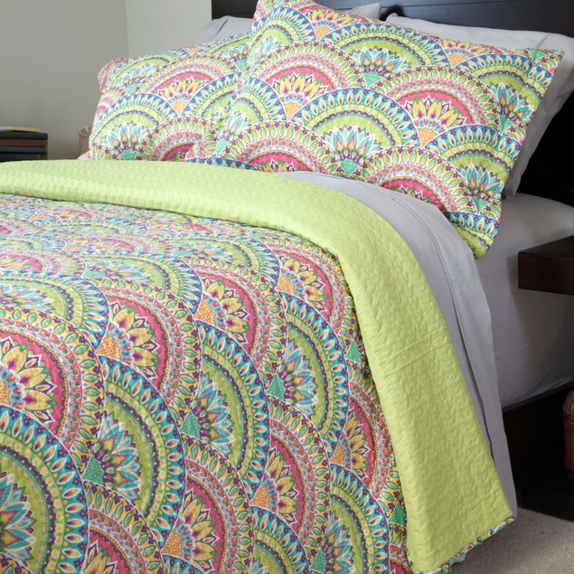 Lavish Home Melanie Quilt 3 Piece Set
