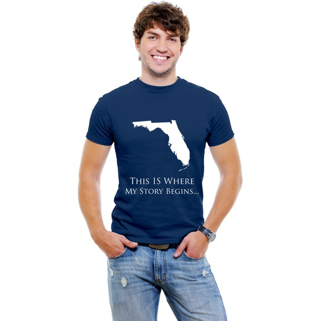 This Is Where My Story Begins...Florida T-Shirt