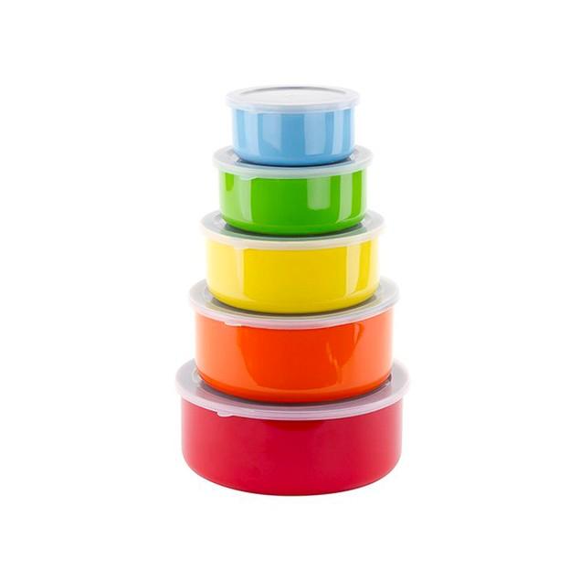 5-Piece Mixing/Storage Set with Lids