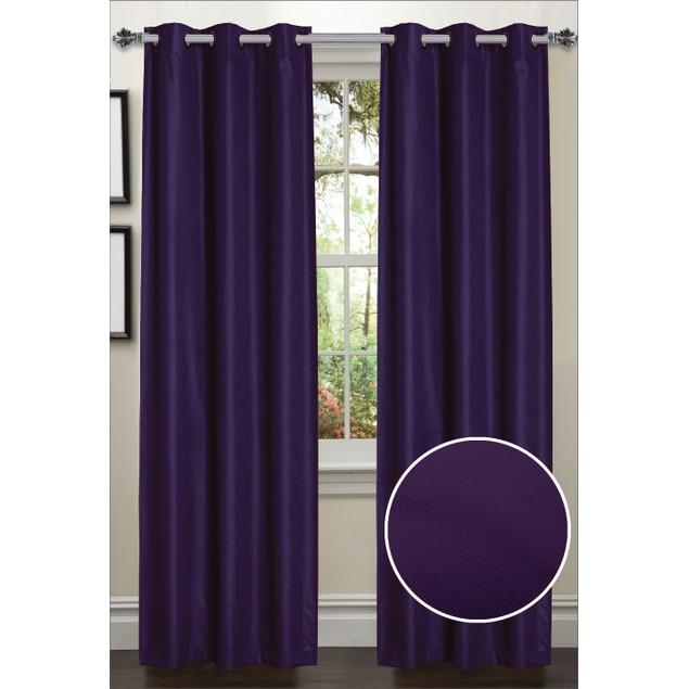2-Pack Decorative Energy Saving Curtain Panels