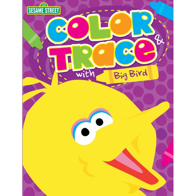 Color & Trace with Big Bird