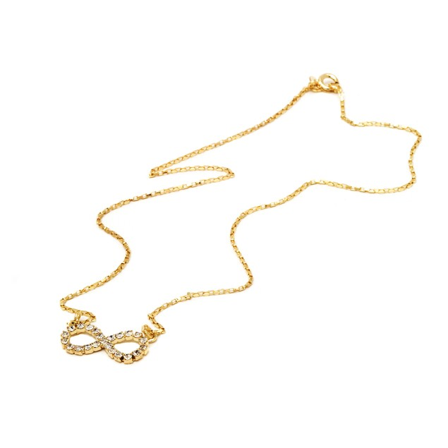 AAA simulated diamond necklace