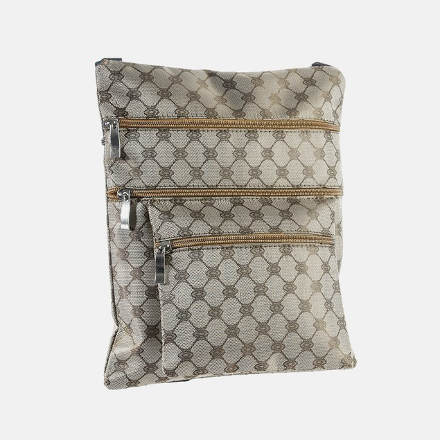 Suvelle Diamond Pattern Crossbody Bag