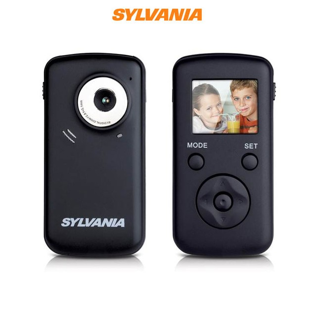Sylvania DV1100 Digital Video Camcorder with 4x Optical Zoom and 1.8-Inch LCD Screen