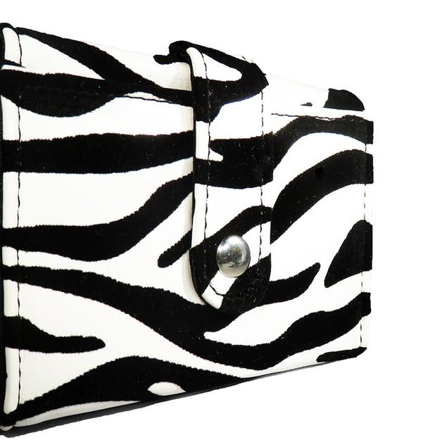 AFONiE Small Zebra Carry All Wallet