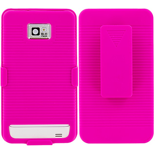 Samsung Galaxy S2 i9100 Belt Clip Hard Holster Case Cover