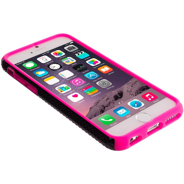 Apple iPhone 6 (4.7) Hybrid Zebra Hard Silicone Case Cover