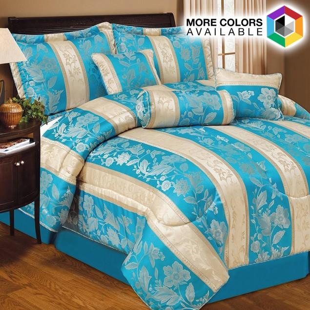 7 Piece Set: Lizette Comforter Collection