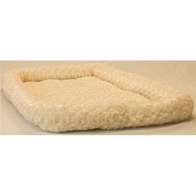 Bolster Pet Bed - Latte