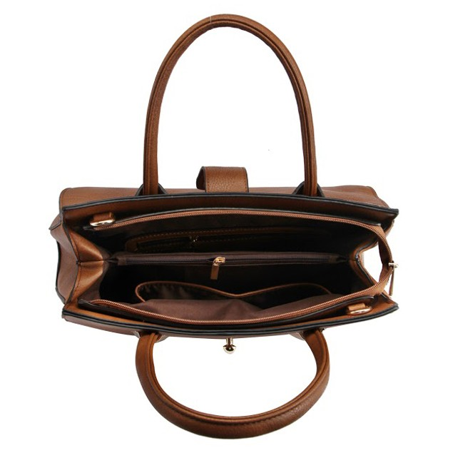 MKF Collection Squared Satchel