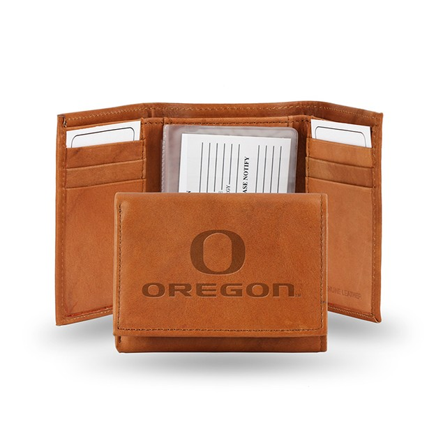 University Oregon Leather Trifold