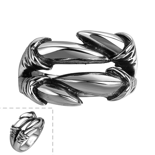 Artistic Stainless Steel Connected Ring