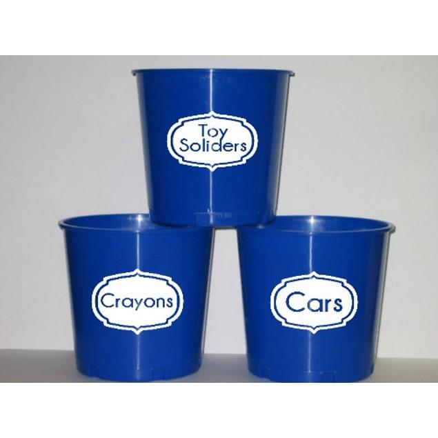 Set of 4 Canister Label Design 30