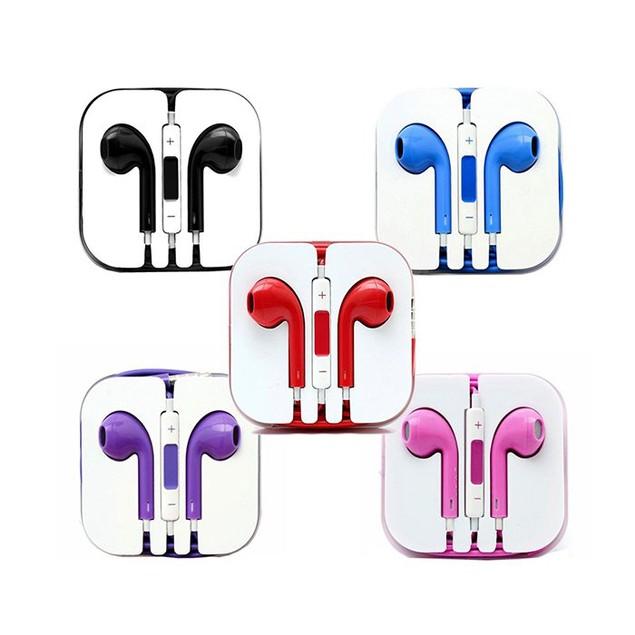 2-Pack Earpod Headphones for iPhone, iPad & MP3