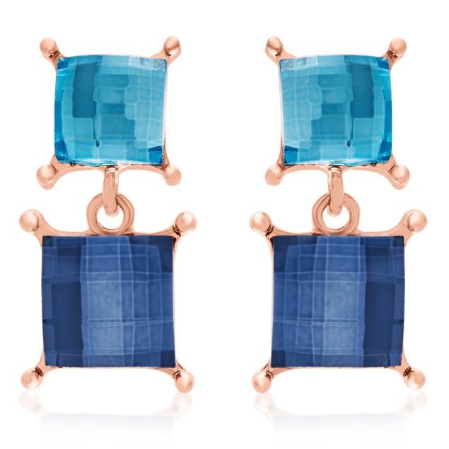 Swarovski Elements Dangle Earrings