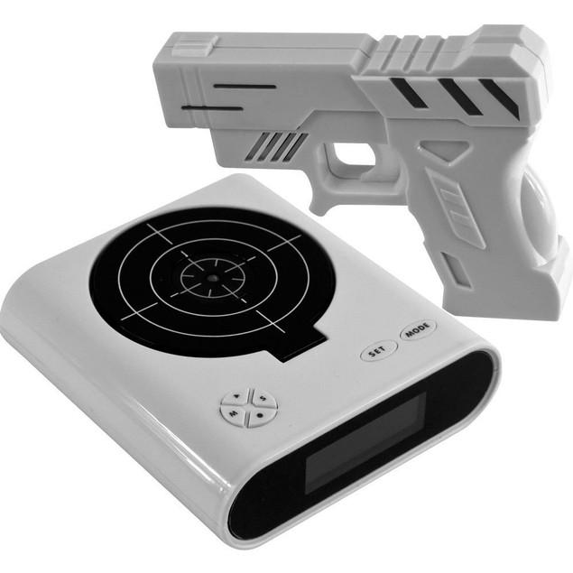 Creatov Gun and Target Alarm Clock