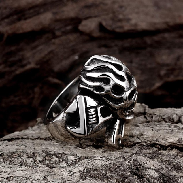 The Original Death Skull Stainless Steel Ring
