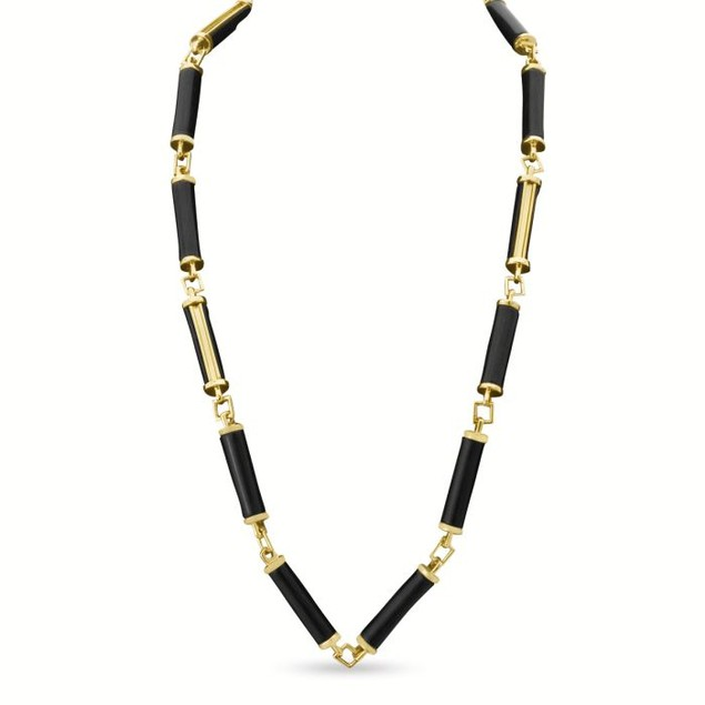 Black Pillar Necklace