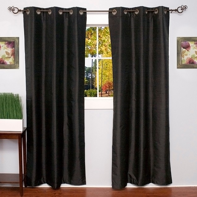 2-Pack Energy Saving Black Out Curtain Panels - Assorted Styles