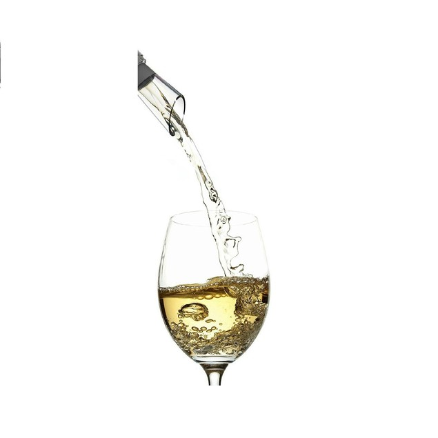 3-in-1 Stainless Steel Wine Chiller with EZ Pour Spout