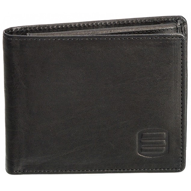 Suvelle Men's Antique Genuine Leather Wallet